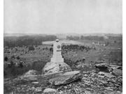Gettysburg C1890 Nthe Battlefield At Gettysburg Pennsylvania Photograph C1890 Poster Print by  (18 x 24)