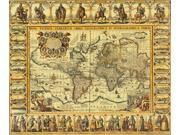 World Map 1626 Poster Print by Science Source (24 x 18)