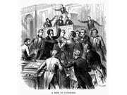 Fight In Congress 1851 NA Row In Congress Congressmen Albert G Brown And John A Wilcox Of Mississippi Come To Blows Over Differing Views On The Extent Of Sympat