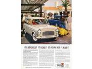Ford Avertisement 1959 Namerican Magazine Advertisement 1959 For The Ford Escort Station Wagon Manufactured In England Poster Print by  (18 x 24)