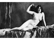 Nude Bather 1905 NAfter The Bath Nude Study 1905 By An Unidentified American Photographer Poster Print by  (18 x 24) 9SIA1S75VG6197