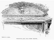 Madison Square Garden Nproscenium Arch Of The Theater At The Second Incarnation Of Madison Square Garden (1890-1925) Designed By Stanford White Drawing 1894 Pos 9SIA1S75RJ4794