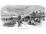 Nevada Carson City Nview Of The Principal Street In Carson City Nevada Line Engraving 19Th Century Poster Print by  (18 x 24) 9SIA1S75RF7877