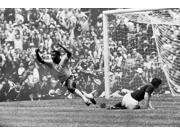 Soccer World Cup 1970 Npel Scores BrazilS First Goal Against Italy During The 1970 World Cup Held In Mexico Poster Print by  (18 x 24) 9SIA1S75RK2697