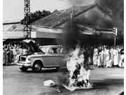 Buddhist Crisis 1963 Nbuddhist Monk Thich Quang Duc (1897-1963) Committing Self-Immolation At An Intersection In Saigon South Vietnam In Protest Against The Ant