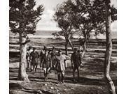 World War I Dardanelles Ngeneral Franchet DEsperey And His Staff Inspecting Turkish Fortresses In The Gardens Of Zummernan In Dardanelles Turkey Photograph C191