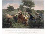 Mrs Philip Schuyler 1777 Nwife Of The American Revolutionary General Firing Her Cornfields Near Saratoga New York At The Approach Of British Forces Under Genera