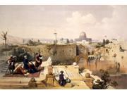 Dome of the Rock Jerusalem 1846 Poster Print by Science Source (24 x 18)