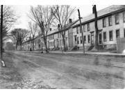 Vermont Row Houses C1909 Na Row Of Mill Houses Belonging To The Woolen Mill Company Holden- Leonard Company In Bennington Near Burlington Vermont Photographed B 9SIA1S75RR5163