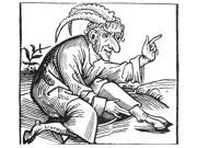 Superstition 1493 Nspontaneous Generation A Monster Born From The Biblical Deluge Woodcut From The Nuremberg Chronicle Poster Print by  (18 x 24)