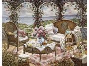 Afternoon Tea Poster Print by  Janet Kruskamp  (8 x 10)