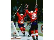 Mario Lemieux & Wayne Gretzky 1987 Canada Cup Photo Print (8 x 10) 9SIA1S74YK2288
