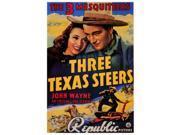 Three Texas Steers Movie Poster (27 x 40) 9SIA1S73P78899