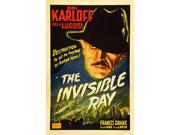 The Invisible Ray Boris Karloff On 1948 Re-Release Poster) 1936. Movie Poster Masterprint (11 x 17)