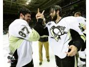 Sidney Crosby & Kris Letang Game 6 of the 2016 Stanley Cup Finals Sports Photo (10 x 8) 9SIA1S74CM2044