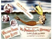 Mr. Peabody And The Mermaid William Powell Ann Blyth 1948 Movie Poster Masterprint (14 x 11) 9SIA1S74AN2923