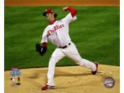 Cole Hamels #35 of the Philadelphia Phillies throws a pitch against the Tampa Bay Rays during game 5 of the 2008 MLB World Series at Citizens Bank Park October 9SIA1S75CY3201
