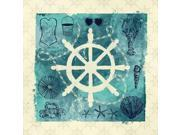 Anchor in Love II Poster Print by Ashley Sta Teresa (24 x 24)