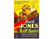 The Thrill Hunter Buck Jones 1933. Movie Poster Masterprint (11 x 17)