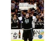 Drew Doughty with the Stanley Cup Game 5 of the 2014 NHL Stanley Cup Finals Photo Print (8 x 10) 9SIA1S75D18234