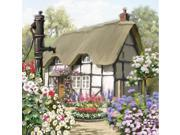 English Cottage Poster Print by The Macneil Studio (12 x 12)