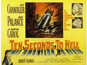 Ten Seconds To Hell Jeff Chandler Martine Carol Jack Palance 1959 Movie Poster Masterprint (14 x 11) 9SIA1S74AW8569