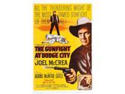 The Gunfight At Dodge City Us Poster Art Joel Mccrea (Top And Right) 1959. Movie Poster Masterprint (11 x 17) 9SIA1S74AW8835