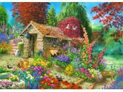 The Garden Shed Poster Print by John Francis (18 x 9)