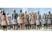 Terra Cotta Warriors and Pits, Xian, Shaanxi, China Poster Print by Kymri Wilt (24 x 11)