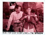 How I Play Golf By Bobby Jones No. 7: 'The Spoon' Movie Poster Masterprint (14 x 11)