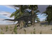 Spinosaurus hunting in a desert environment Poster Print (37 x 21)