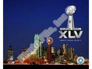 Cowboys Stadium Super Bowl XLV Sports Photo (10 x 8)