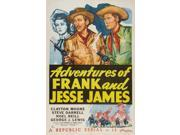 American Bandits: Frank and Jesse James Movie Poster (27 x 40) 9SIA1S73PA5698