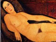 Nude on a Divan Poster Print by Amedeo Modigliani (22 x 28) 9SIA1S75VD7633