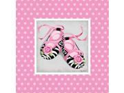 Wild Child Ballet Slipper Poster Print by Kathy Middlebrook (12 x 12)
