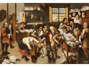 The Payment of Tithes Poster Print by Pieter the Elder Bruegel (20 x 28)