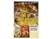 One Of Our Aircraft Is Missing Movie Poster Masterprint (11 x 17) 9SIA1S74AV3442