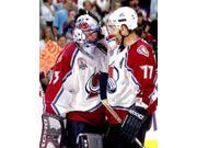 Patrick Roy & Ray Bourque Game 1 of the 2001 NHL Stanley Cup Finals Photo Print (8 x 10) 9SIA1S75168494