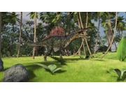 Spinosaurus hunting in a tropical environment Poster Print (37 x 21)