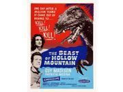 The Beast Of Hollow Mountain U Movie Poster Masterprint (11 x 17) 9SIA1S74AS1720
