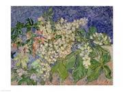 Blossoming Chestnut Branches, 1890 Poster Print by Vincent Van Gogh (36 x 24)