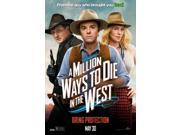 A Million Ways to Die in the West Movie Poster (27 x 40) 9SIA1S73PB5934
