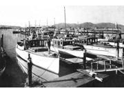 Yacht Harbor San Francisco CA Poster Print by Vintage San Francisco  (12 x 18)