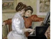 Yvonne and Christine Lerolle at the Piano 1897-1898 Poster Print by  Pierre-Auguste Renoir  (8 x 10) 9SIA1S746P2565