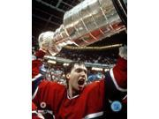 Patrick Roy with 1986 Stanley Cup Photo Print (8 x 10) 9SIA1S74YJ4670