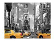 Yellow Cabs, Times Square Poster Print by Igor Maloratsky (20 x 16)
