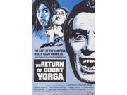 The Return Of Count Yorga Right: Robert Quarry On Uk Poster Art 1971 Movie Poster Masterprint (11 x 17) 9SIA1S74AP0033