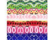 Boho Pattern I Poster Print by Linda Woods (24 x 24)