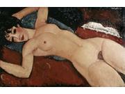 Reclining Nude Poster Print by Amedeo Modigliani (24 x 36) 9SIA1S746U4963
