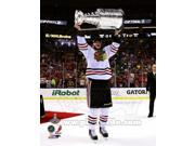 Jonathan Toews with the Stanley Cup Game 6 of the 2013 Stanley Cup Finals Sports Photo (8 x 10) 9SIA1S70UH9619